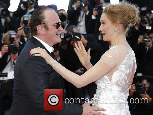 Quentin Tarantino and Uma Thurman 1