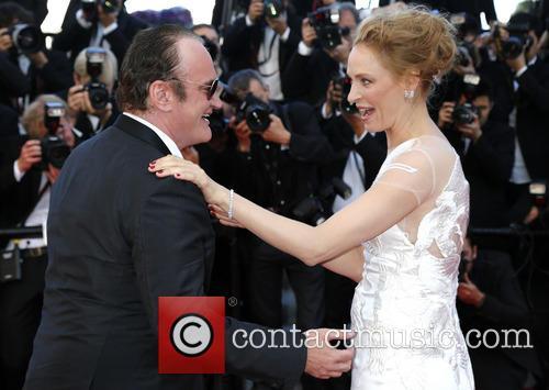 Quentin Tarantino and Uma Thurman 7