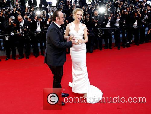Quentin Tarantino and Uma Thurman 8