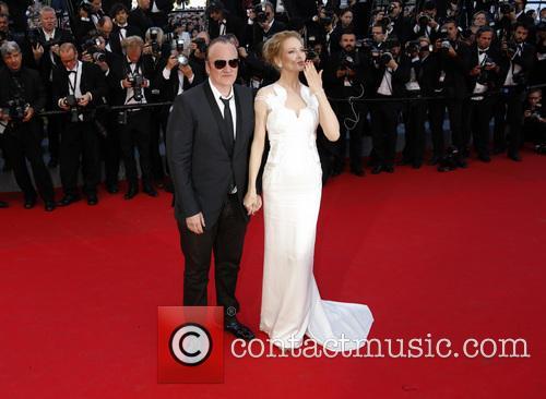 Quentin Tarantino and Uma Thurman 9