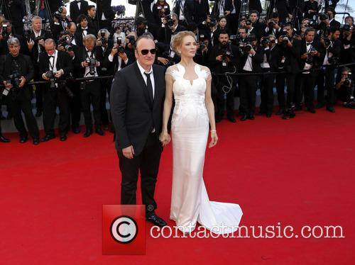 Quentin Tarantino and Uma Thurman 10