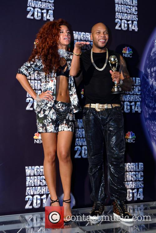 Natalie La Rose and Flo Rida 1