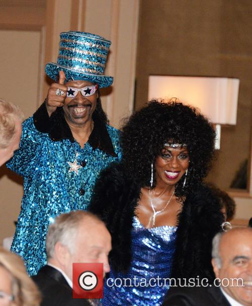 Patty Collins and Bootsy Collins 2