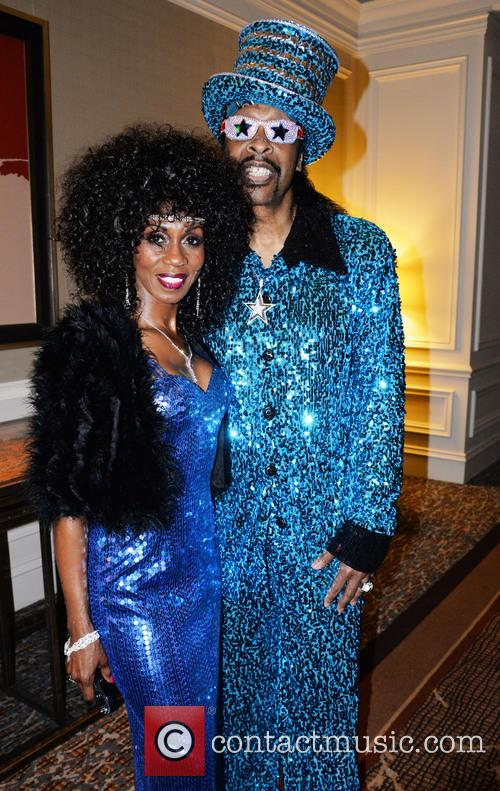 Patty Collins and Bootsy Collins 3