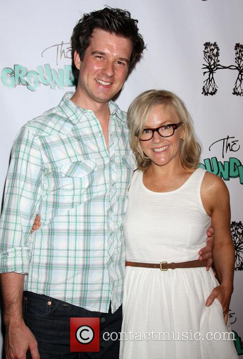 Christian Hable and Rachael Harris