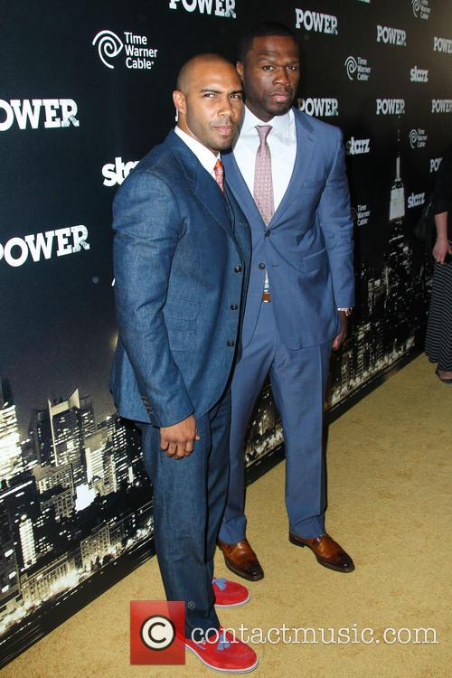 Omari Hardwick and Curtis Jackson 1