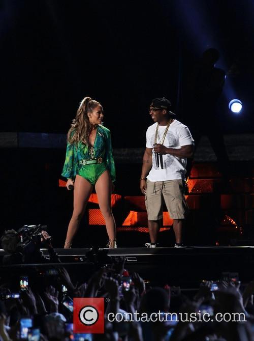 Jennifer Lopez and Ja Rule