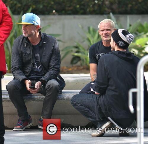 Chad Smith and Flea 1