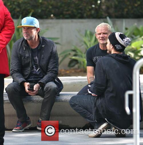 Chad Smith and Flea 2