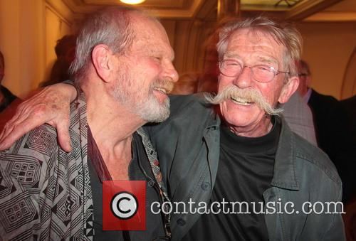 Terry Gilliam and John Hurt 1