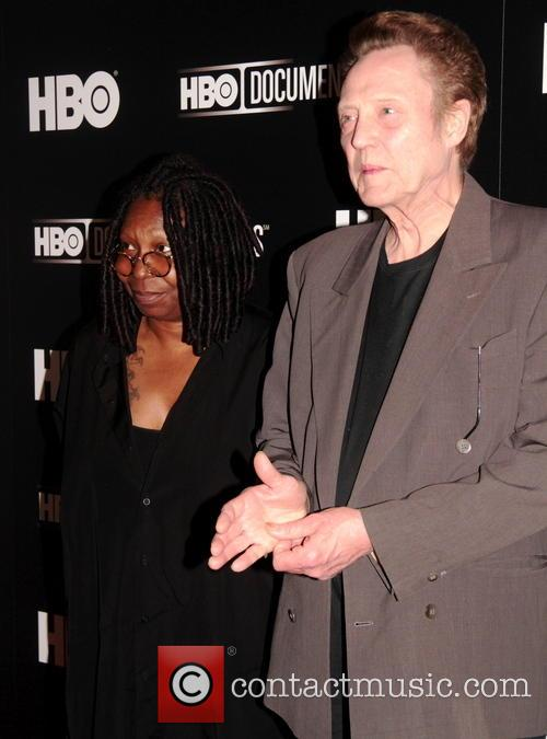 Christopher Walken and Whoopi Goldberg
