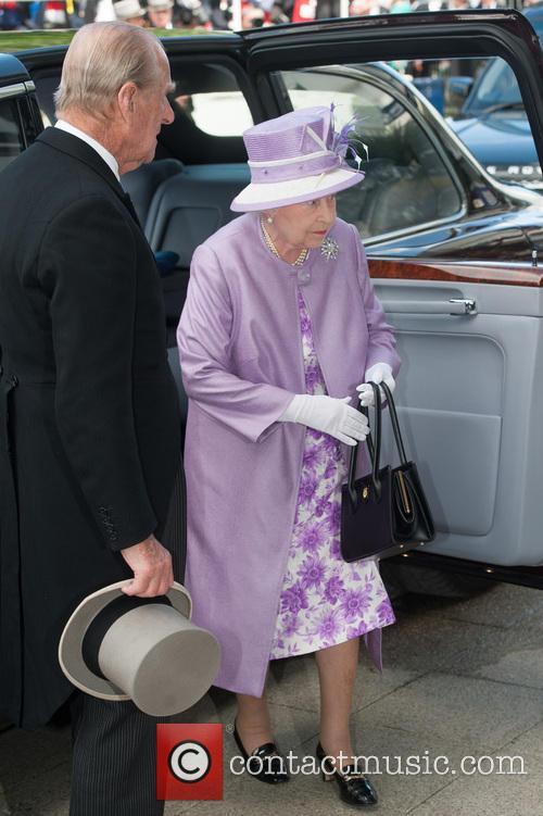 Prince Philip, The Duke Of Edinburgh, The Queen and Queen Elizabeth Ii 8