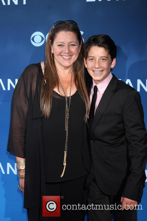 Camryn Manheim and Milo Manheim