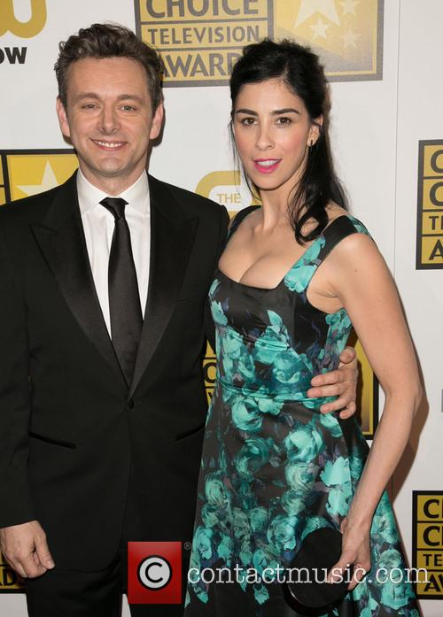Michael Sheen and Sarah Silverman