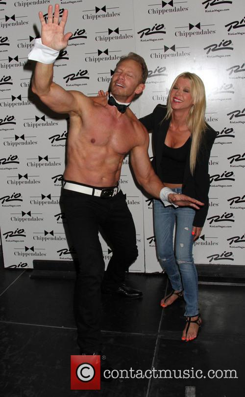 Tara Reid and Ian Ziering