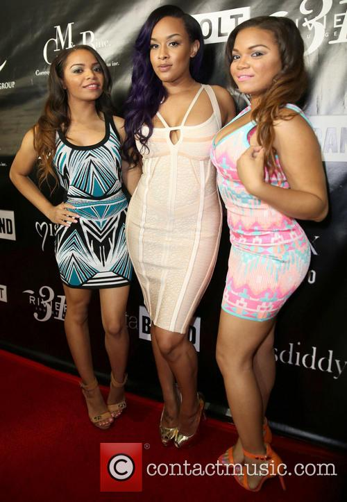 Diddy, Nikki Giavasis, Catherine Page and Noel Page 2