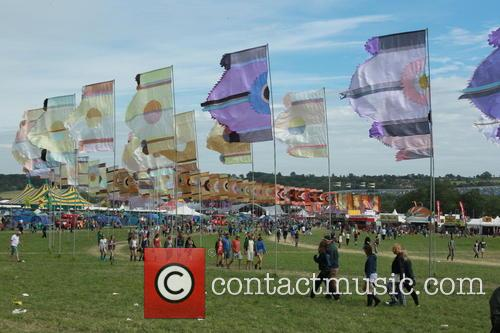 Glastonbury Festival and Atmosphere 2