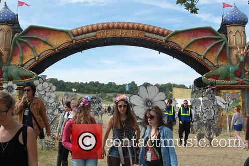 Glastonbury Festival and Atmosphere 3