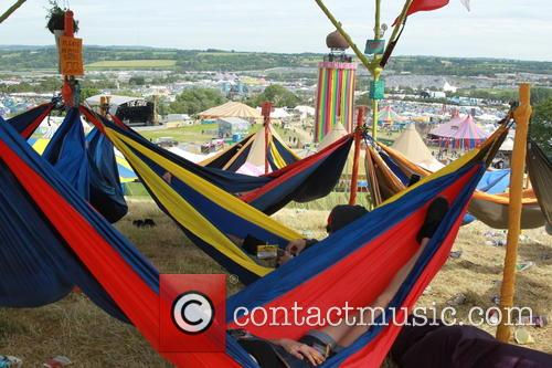 Glastonbury Festival and Atmosphere 5