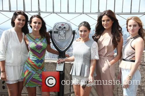 Riley Uggla, Lucy Watson, Louise Thompson, Binky Felstead and Rosie Fortescue 2