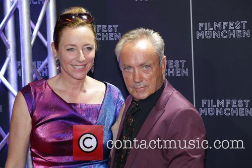 Diana Iljine and Udo Kier
