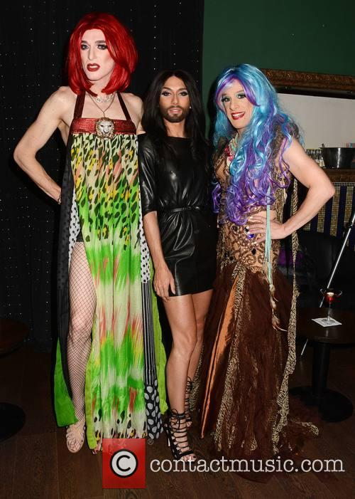 Shirley Temple, Veda and Conchita Wurst