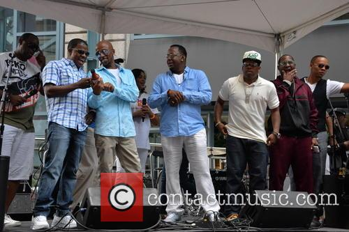 Michael Nutter, Ricky Bell, Ralph Tresvant, Bobby Brown, Michael Bivens, Ronnie Devoe and Johnny Gill