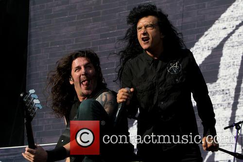 Joey Belladonna, Frank Bello and Anthrax 1