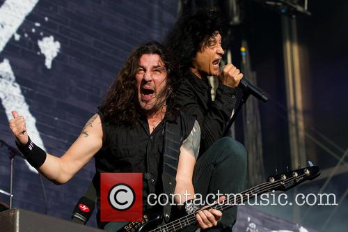 Joey Belladonna, Frank Bello and Anthrax 2