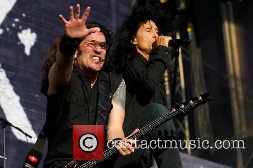 Joey Belladonna, Frank Bello and Anthrax 3