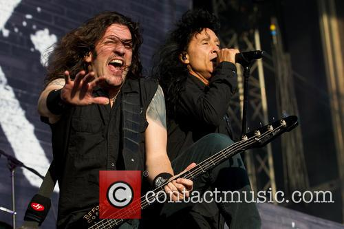 Joey Belladonna, Frank Bello and Anthrax 6