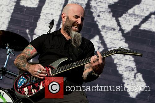 Scott Ian and Anthrax 1
