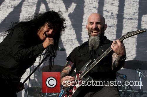 Scott Ian, Joey Belladonna and Anthrax