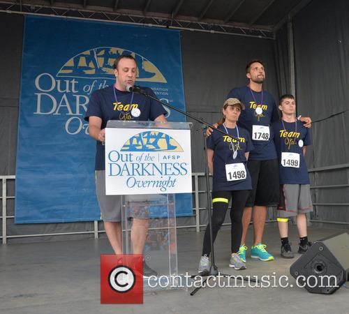 Craig Robinson, Donna Micheletti, Ryan Anderson and Dylan Micheletti