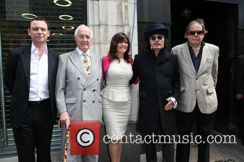 Andrew Lancel, Geoffrey Ellis, Vicki Michelle, Adam Ant and David Stark 2