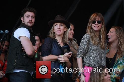 Sam Taylor Johnson and Aaron Taylor Johnson 1