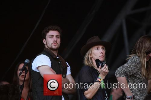Sam Taylor Johnson and Aaron Taylor Johnson 4