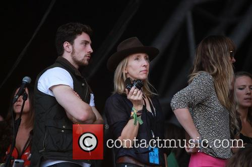 Sam Taylor Johnson and Aaron Taylor Johnson 7