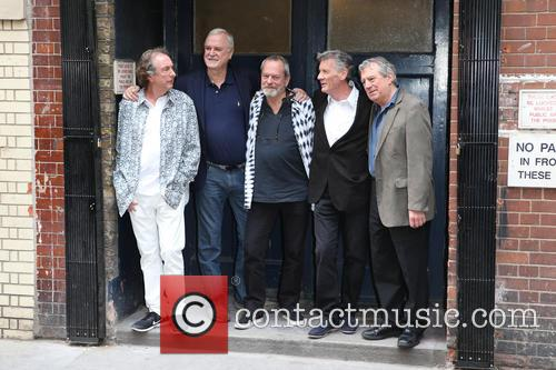 Eric Idle, John Cleese, Terry Gilliam, Michael Palin and Terry Jones 7