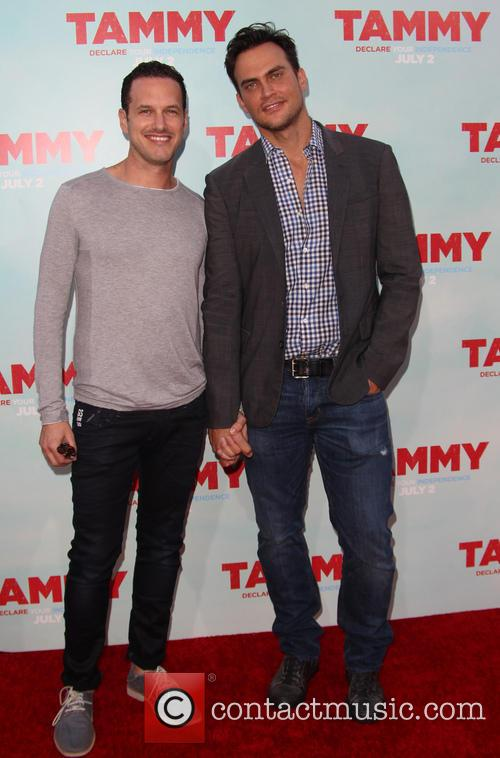 Jason Landau and Cheyenne Jackson