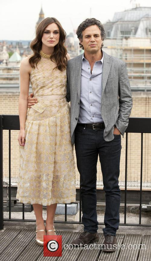 Keira Knightley and Mark Ruffalo