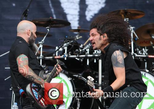 Anthrax, Scott Ian and Frank Bello 8