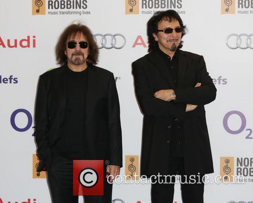 Geezer Butler and Tony Iommi