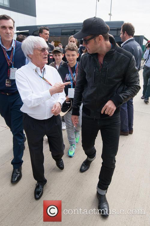 Jude Law and Bernie Ecclestone 6
