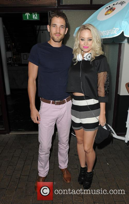Max Rogers and Kimberly Wyatt 1