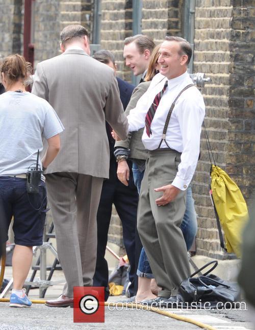David Thewlis and Christopher Eccleston