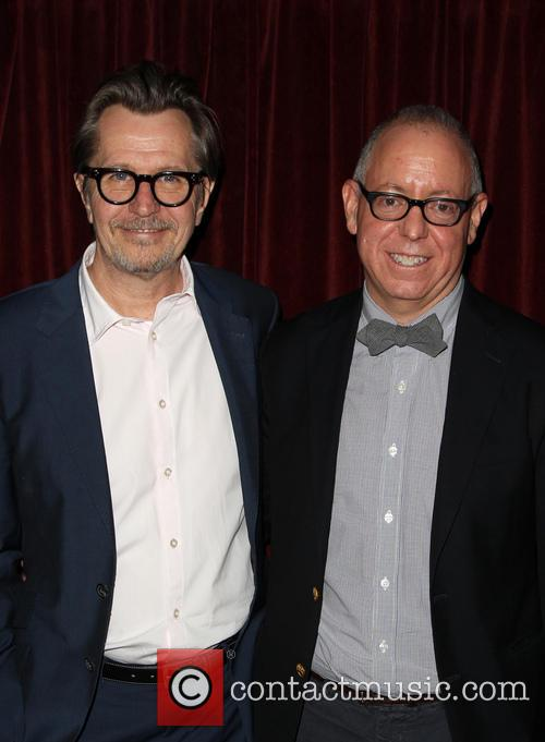 Gary Oldman and James Schamus