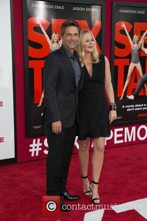 Rob Lowe and Sheryl Berkoff