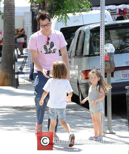 Johnny Knoxville, Arlo Clapp and Rocko Clapp 2