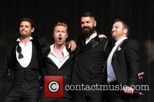 Boyzone, Keith Duffy, Mikey Graham, Ronan Keating and Shane Lynch 5